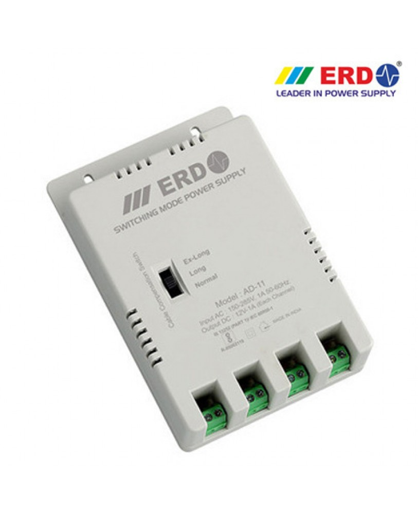 Erd Ad 11 4 Channel Power Supply Price In India Buy Variable Supplies For Cctv Cameras With Voltage