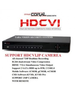 Cp Plus HDmi/VGA 16 channel DVR CP-DVR for 2 MP Security Cameras