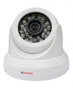 CP Plus High speed/ Day and Night(ICR) 2 Mp with IR LEDs length 20m High Resolution CCTV camera, password protected and can monitor a distance of 20 meters