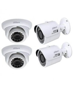 Dahua 2 Megapixel 720P Cost-effective Water-proof Mini IR HDCVI Camera, High speed, long distance real-time transmission