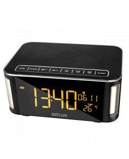 Astrum ST250 Bluetooth Speaker With Clock + Light + FM + TF