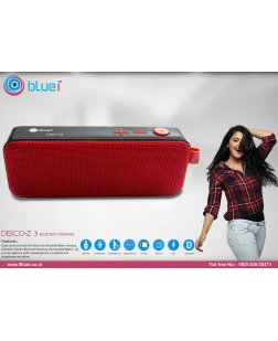 Bluei Disco Z3 Portable Bluetooth Speaker (Multi Color)