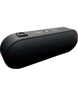 Riviera Bluetooth Speaker Stereo FM, High-Def Sound, Up to 128GB Micro SD Card Support, USB Playback with Triple Bass and 3.5mm Jack(Random Colour)