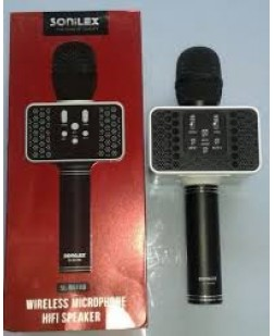 Sonilex BS-188 Wireless Microphone Bluetooth Speaker