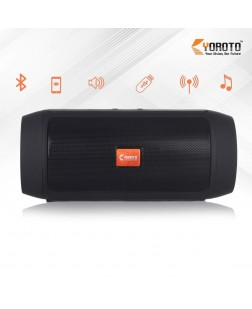 Yoroto YO-522 Portable Wireless Extra Bass Bluetooth Speaker with AUX Input, Micro SD Card Reader, TF Card Reader, USB Port-(Assorted)