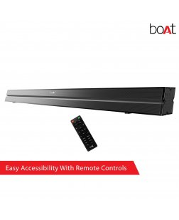 boAt AAVANTE Bar Wireless Bluetooth Soundbar Speaker with Subwoofer and HDMI ARC (Black)