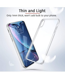 Ipaky Apple iPhone XR Transparent Clear Case Soft Back Case Cover