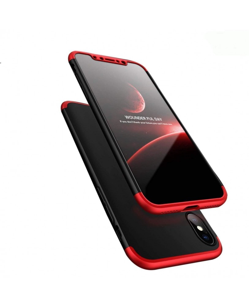 Ipaky Apple IPhone Xs Max Premium Shockproof 3 In1 Full