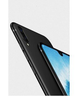 Ipaky Honor 8X 360 Degree Full Coverage with Camera Protection Royal Ultra Slim Flexible Soft Back Case Cover (Matte Black)