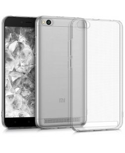 Ipaky MI Redmi 5A Ultra Thin Soft Clear Back Cover (Transparent)