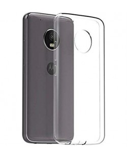 Ipaky Motorolla E4 Transparent Silicon Back Cover