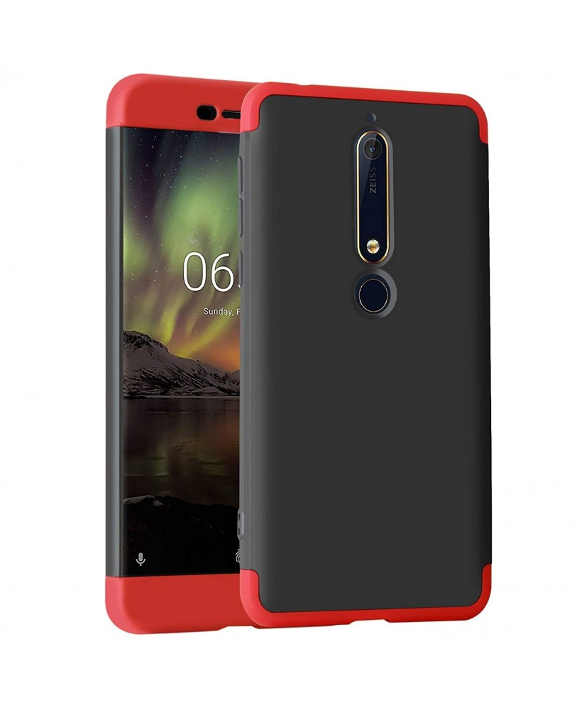 buy popular 56cb8 870b9 Ipaky Xiaomi redmi Note 5 Premium Shockproof 3 in1 Full Body Protection  Back Cover Case