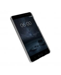 Ipaky Nokia 6 Mobile Cover Soft & Flexible Back case (Transparent)