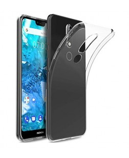 Ipaky Nokia 7.1 Scratch Resistant Transparent Back Case Cover