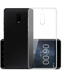 Ipaky Nokia 8 Transparent Silicon Back Cover