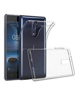Ipaky Nokia 9 Transparent Silicon Back Cover
