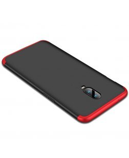 Ipaky Oneplus 6 Premium Shockproof 3 in1 Full Body Protection Back Cover Case