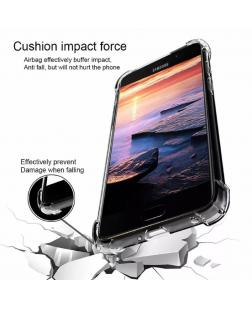 Ipaky Samsung Galaxy J6 Silicone Soft Full Protection Back Cover