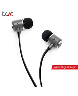 boAt DSP 4000 Apple Certified Lightning Earphone (Black) with Digital Audio