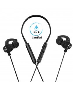 boAt Rockerz 255 Sports Bluetooth Wireless Earphone with Immersive Stereo Sound and Hands Free Mic (Neon)