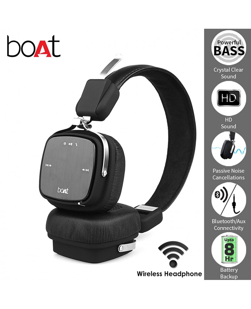 4afb21a0530 Buy boAt Rockerz 600 Bluetooth Headphones Online at Lowest Price in ...
