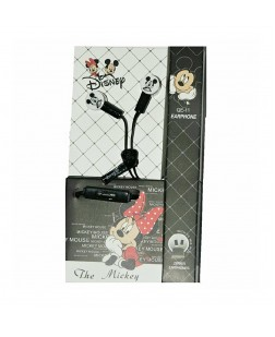 Cartoon Mickey Mouse Shaped in Ear Earphones