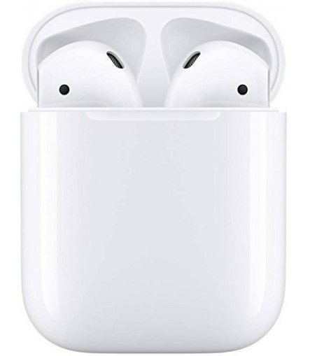 Apple AirPods Bluetooth Headset with Mic  (Color May Vary)