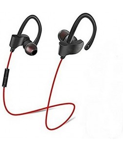 Qc-10s Bluetooth Earphones (Red)