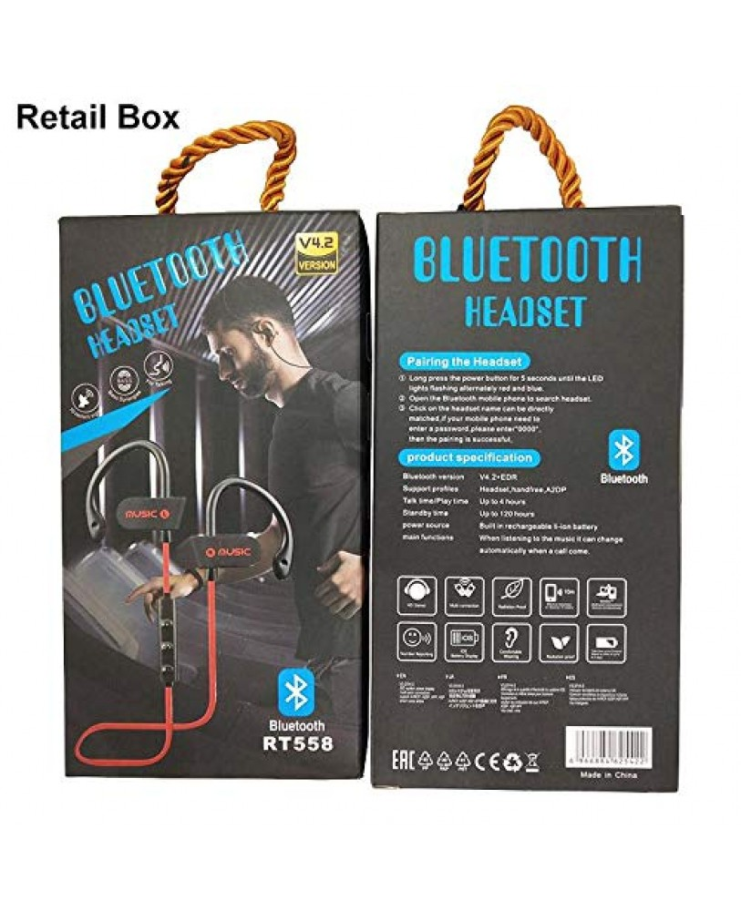Buy RT 558 Wireless Bluetooth Stereo Headphone Online At