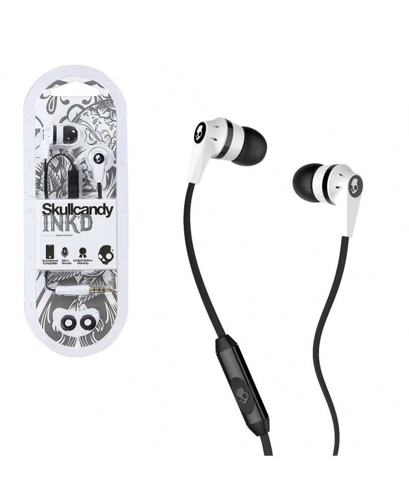 Skull Candy Inkd Price Buy Earphone With Mic Skullcandy 20 In Ear W 1 Black Color May Vary