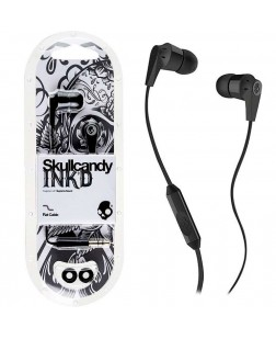 INK'd Earphone with Mic (Color May Vary)