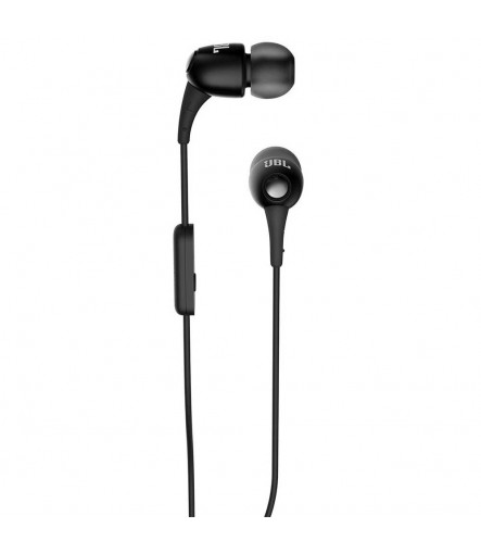 JBL T150A Stereo In-Ear Purebass Headphones with Mic (Color May Vary)