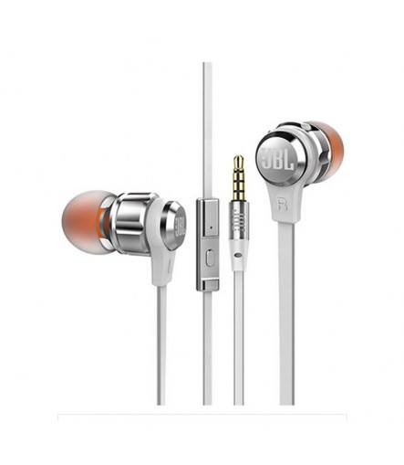 T280A Stereo In-Ear Purebass Headphones with Mic (Color May Vary)