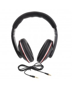 iNext IN-909 Wired Headphone with Detachable Aux (Black)