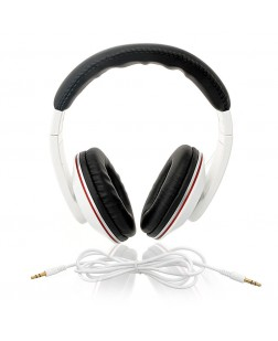 iNext Wired Headset with Detachable Aux IN-909HP (White)