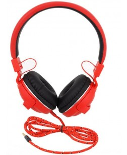 iNext IN-910 Wired Headset Extended Bass Response (Red)