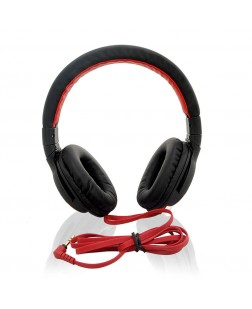 iNext Black Wired Headphone IN-912 HP