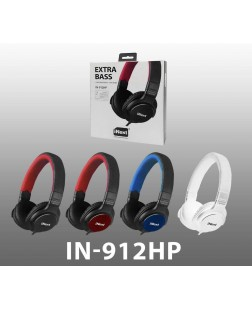 iNext Multi Colour Wired Headphone IN-912 HP