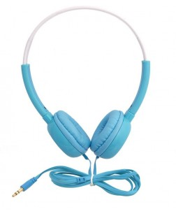 iNext In-913 Hp Wired Headphones (Blue Colour)