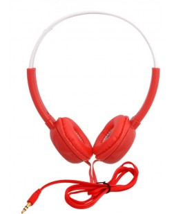 iNext Red Wired Headphones (IN-913 HP)