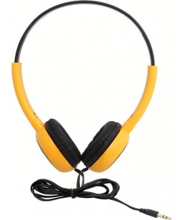 iNext Wired Headset IN-913 HP (Yellow Colour) AUX Cable