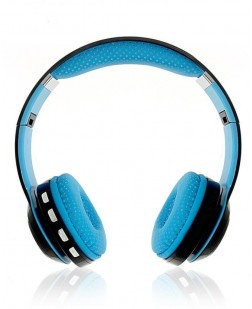 iNext IN 914 HP Multifeatured Bluetooth Headphones with in-built Microphone (Blue)