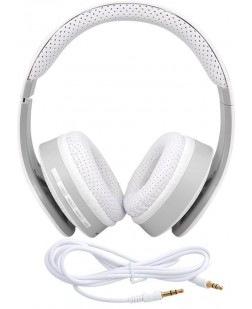 iNext Wired & Wireless bluetooth Headphone IN-917 HP (White, Over the Ear)
