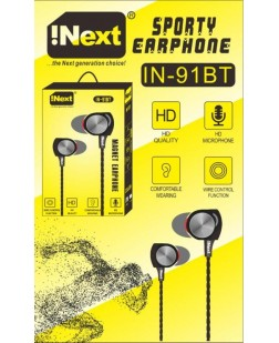 Inext IN-91BT Bluetooth Earphone with Mic