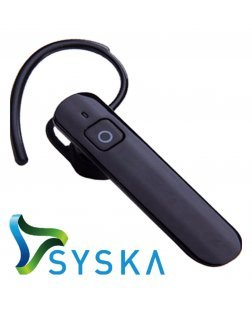 Syska H904 In the Ear Bluetooth Headset - Bluetooth Headphones (Black)