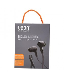 Ubon Champ Bomb Series Earphone with Mic (Color May Vary)