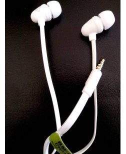 Ubon Bomb Series In Ear Headphone with Mic BM-02 (White)