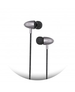 UBON EP-31 Universal in-Ear Headphones with Mic - Color Light Black