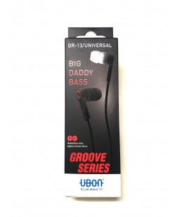UBON GR-13 Champ In-Ear Big Daddy Bass Quality Earphone (Black)