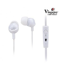 UBON Vingajoy VG-43 Abhston Prime OG Series Big Daddy Bass Anti Noise Universal Hands-free Earphone (Black)